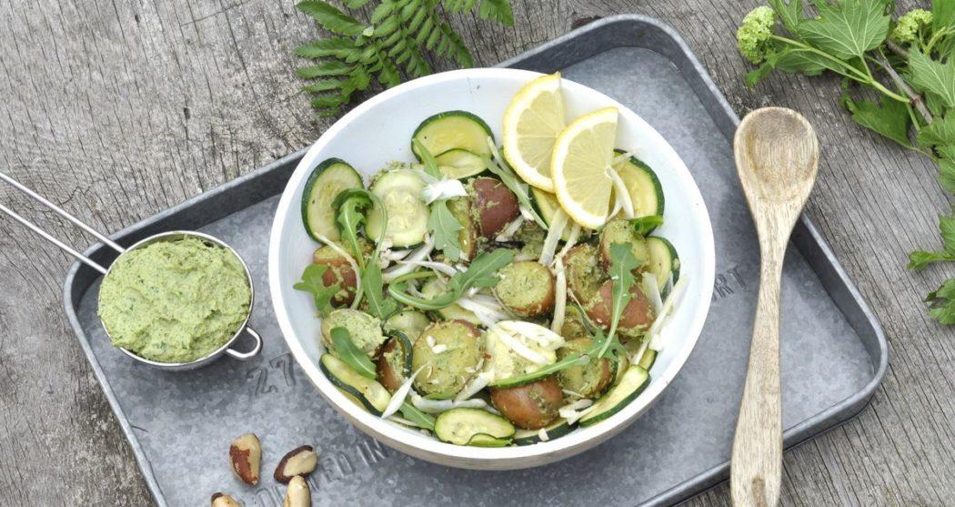 Aardappelsalade-met-avocado-crème
