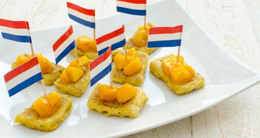 Gebakken-polenta-met-mangochutney