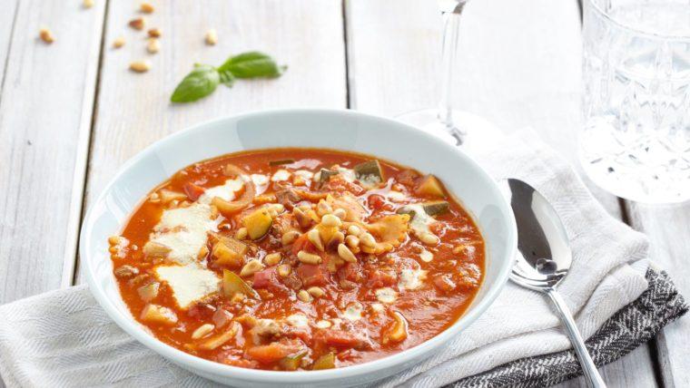 Romige-Lasagnesoep