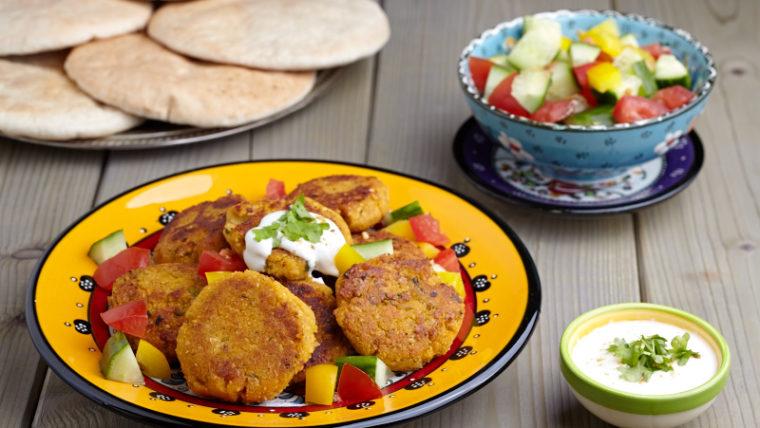 Beeld: Oranje falafel uit de oven - Wakker Dier