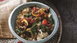 Beeld Indische spinazie stoof - Wakker Dier