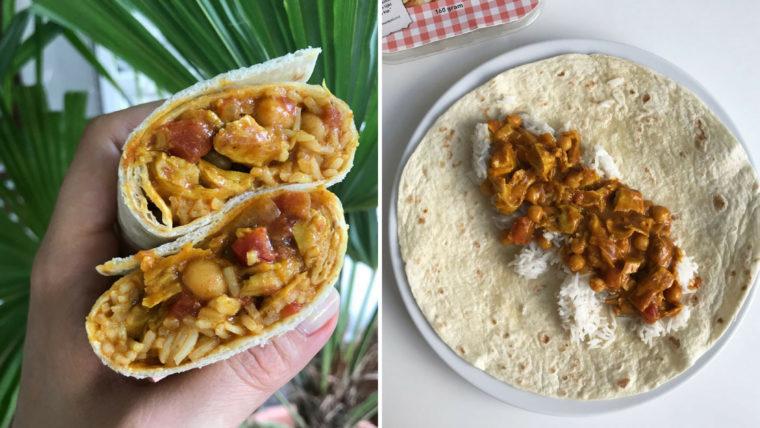 Tikka masala burrito - Wakker Dier