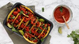 Mexicaanse taco's met pittige tomatensaus - Wakker Dier