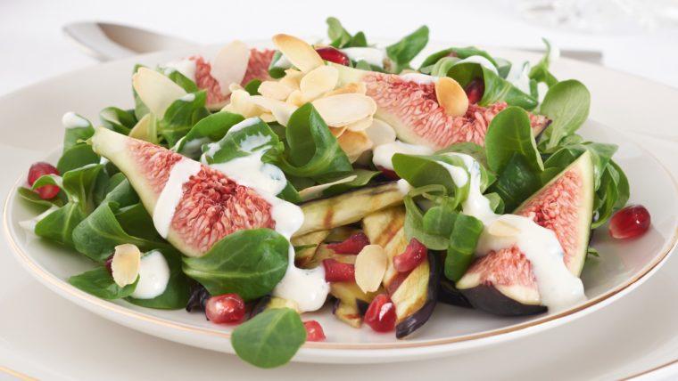 Salade-met-gegrilde-aubergine-vijg-en-munt-Wakker-Dier