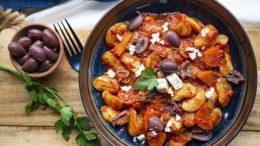 Griekse limabonen in tomatensaus - Wakker Dier