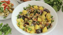 Aubergine salade -Wakker Dier