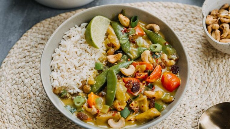 Vegan kerrieschotel – Wakker Dier