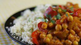 Curry kikkererwten & aardappel – Vegan Challenge Wakker dier