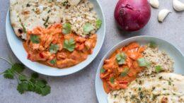 Vega butter chicken curry