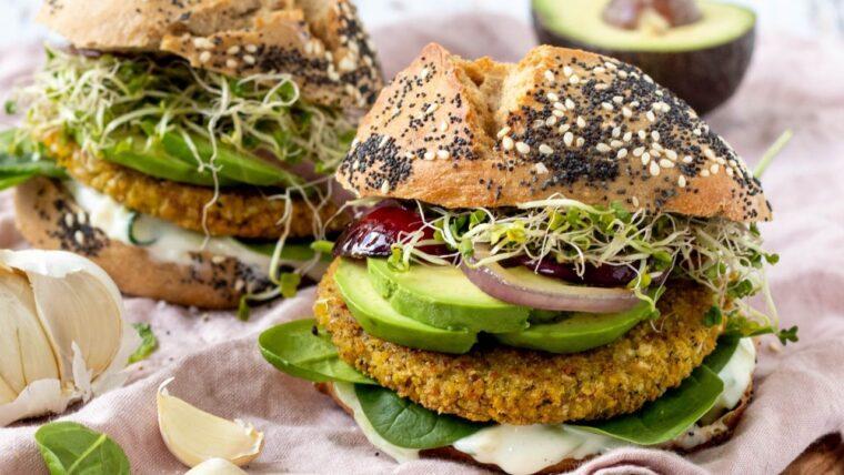 Falafel burger – Wakker Dier